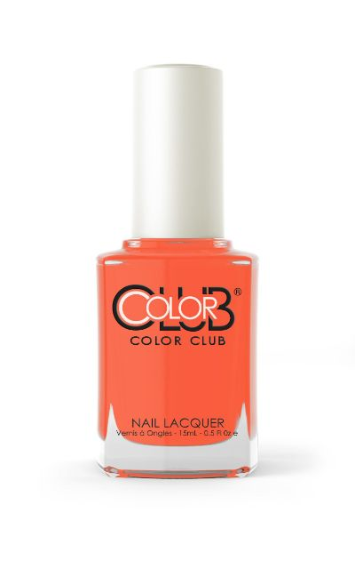 Color Club  Catch A Fire Nail Lacquer