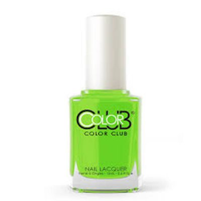 Color Club The Lime Starts Here Nail Lacquer